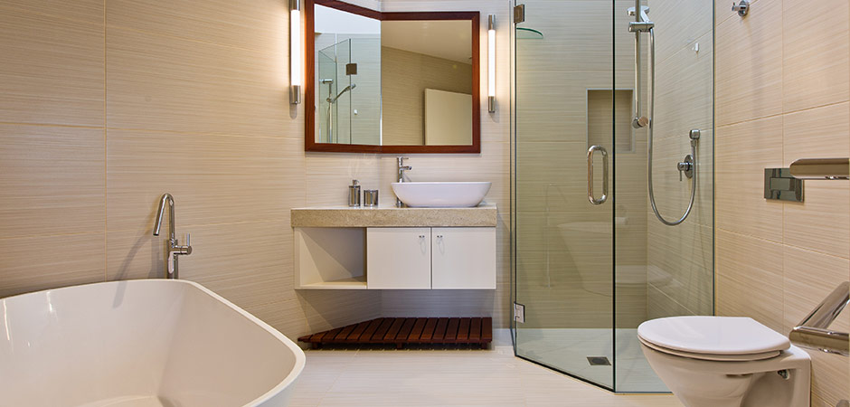 Bathroom design paramata wellington by pauline for Bathroom design new zealand