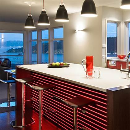 Interior design pukenamu road taupo by pauline stockwell design - Kitchen Bathroom And Interior Design Portfolio By Pauline