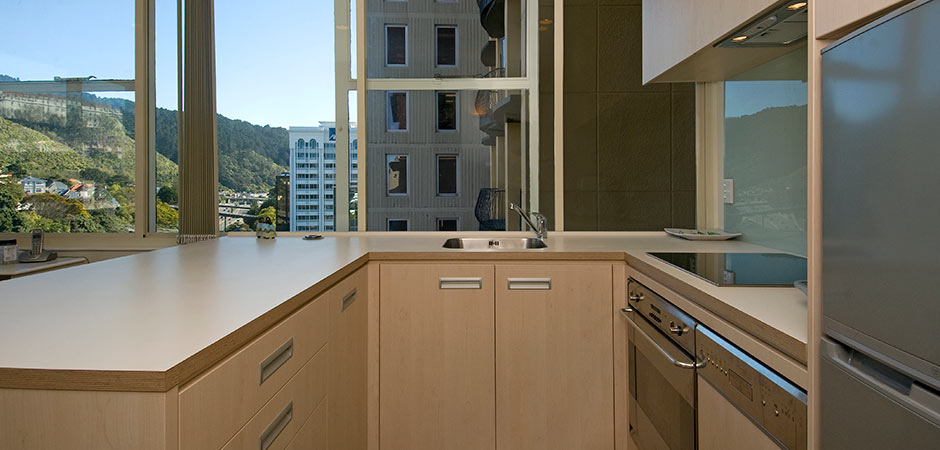 Kitchen design the terrace wellington by pauline for Bathroom design wellington new zealand